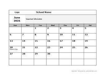 Printable School Calendar 2021-22 School Calendar 2020   2021   2022 & Academic Calendar Templates
