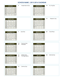 yearly school calendar 04