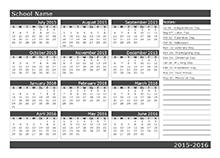 school calendar 2019 2020 academic calendar templates