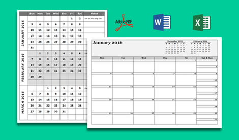 2018 Monthly Calendar with US Holidays - Free Printable Templates