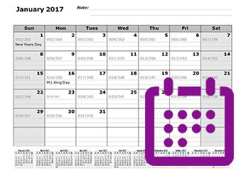 2021 Julian Calendar