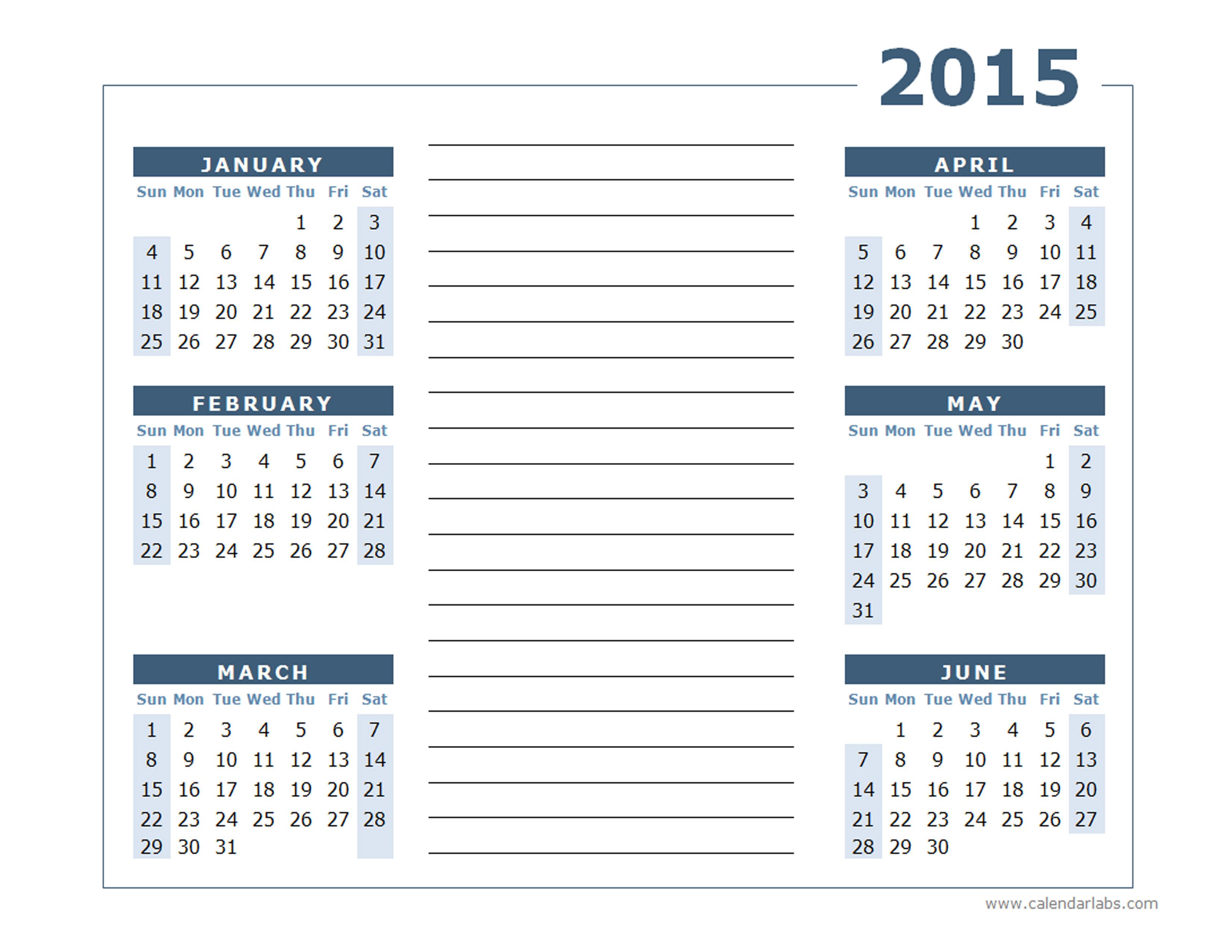calendar 2015 uk 16 free printable word templates