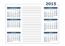 2015 calendar templates download 2015 monthly yearly templates 2015 yearly calendar two page with notes saigontimesfo