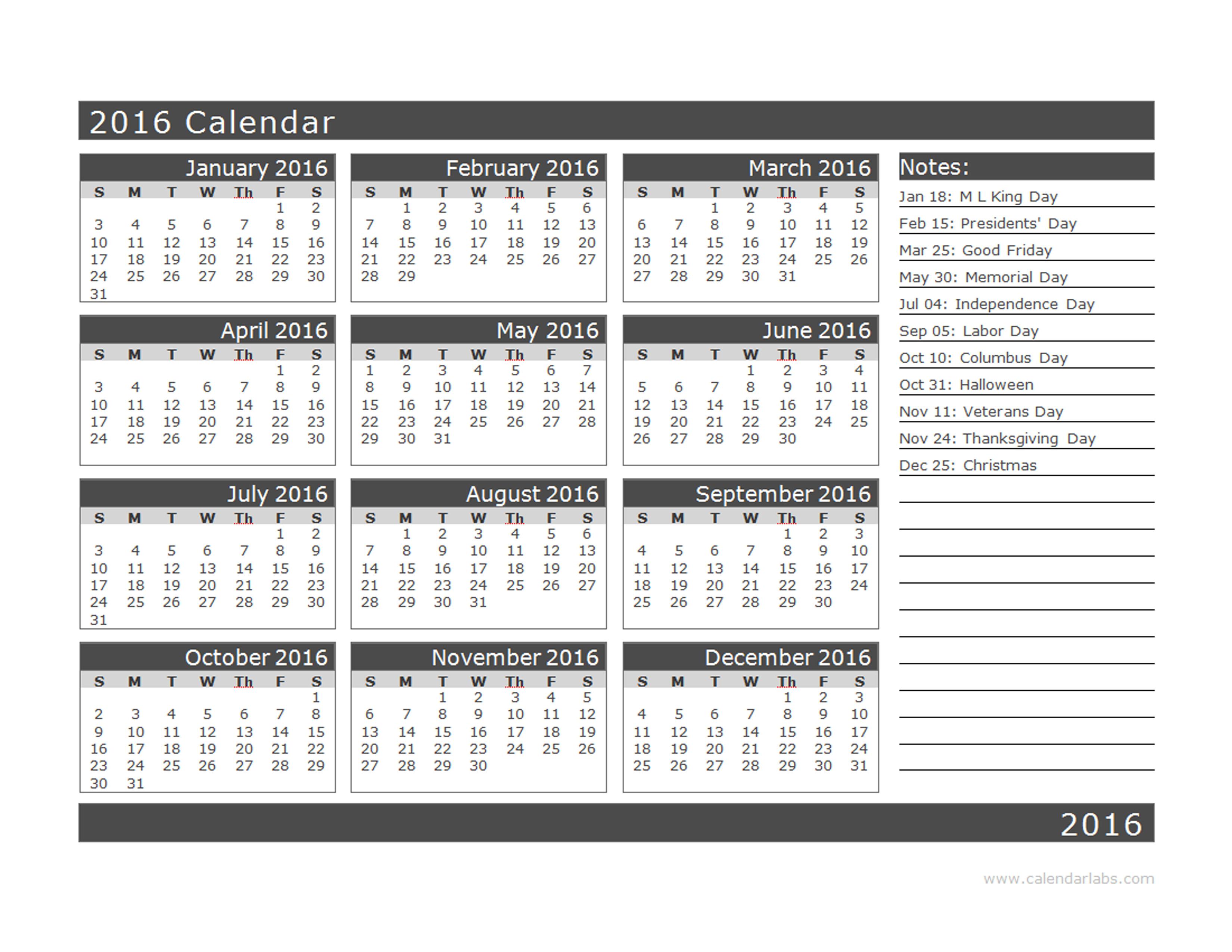 calendar template google docs calendar template 2016