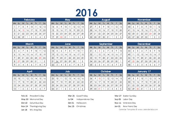 2016 accounting calendar 4-5-4