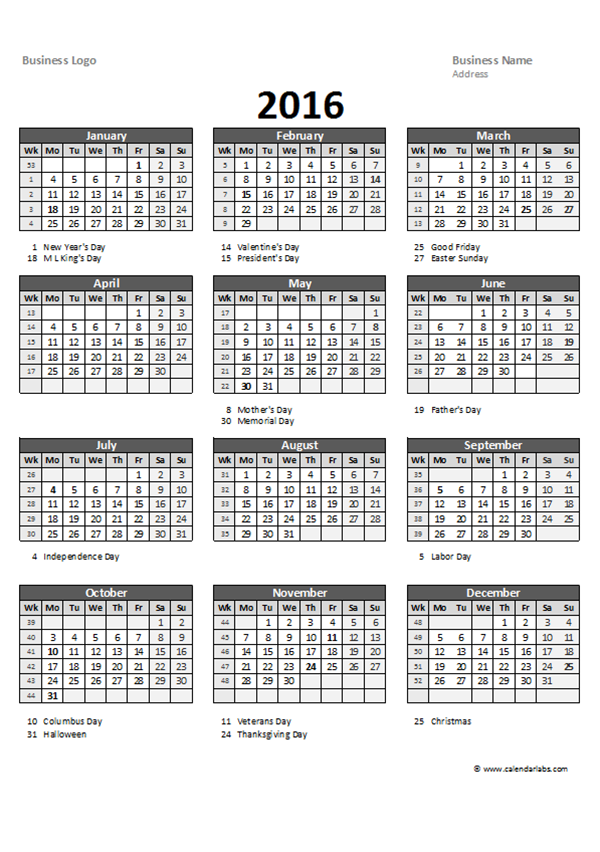 Ediblewildsus  Winning  Excel Yearly Calendar   Free Printable Templates With Engaging  Excel Yearly Calendar  With Easy On The Eye Combine Excel Workbooks Also Using Excel Functions In Addition How To Insert Text Box In Excel And Excel Insert Picture Into Cell As Well As Find Excel Function Additionally Pmt Function In Excel  From Calendarlabscom With Ediblewildsus  Engaging  Excel Yearly Calendar   Free Printable Templates With Easy On The Eye  Excel Yearly Calendar  And Winning Combine Excel Workbooks Also Using Excel Functions In Addition How To Insert Text Box In Excel From Calendarlabscom