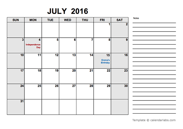 2016 free calendar pdf