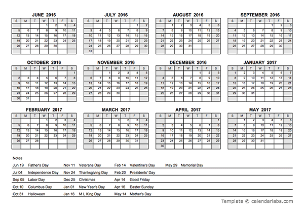 Calendar With N Holidays Pdf Free Download : Pdf yearly calendar with holidays free printable
