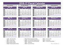 UK fiscal calendar template