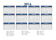 4-5-4 accounting close calendar 2016