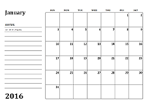 2016 Calendar Templates Download 2016 Monthly Yearly Templates