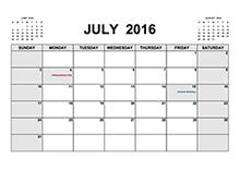 2016 printable calendar pdf
