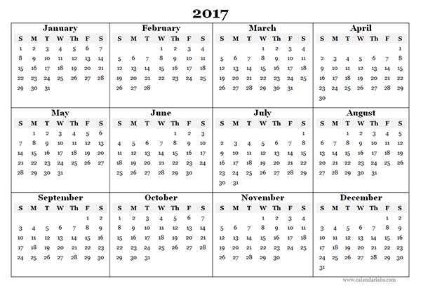 Year Calendar Free : Blank yearly calendar template free printable templates