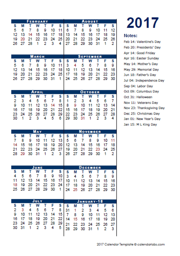 Download calendar template file as Word / PDF / JPG document: