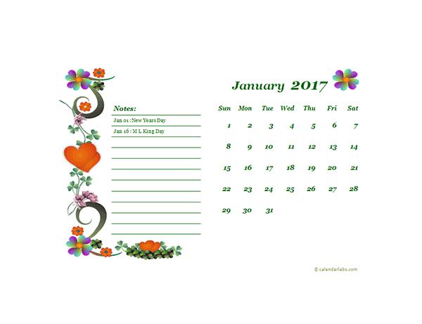 Calendar 2017 October Word Document - edeore.com