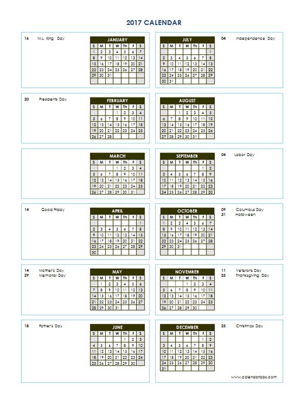 2017 yearly calendar template vertical 04