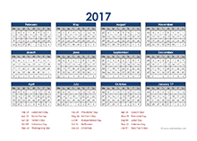 4-5-4 accounting close calendar 2017