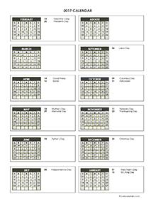 2017 Accounting Close Calendar 4-4-5