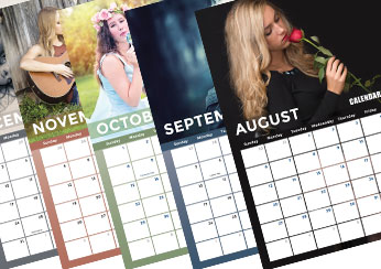 2017 Model Photo Calendar