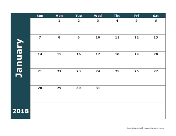 Calendar Large Boxes : Famous large blank calendar template gallery resume
