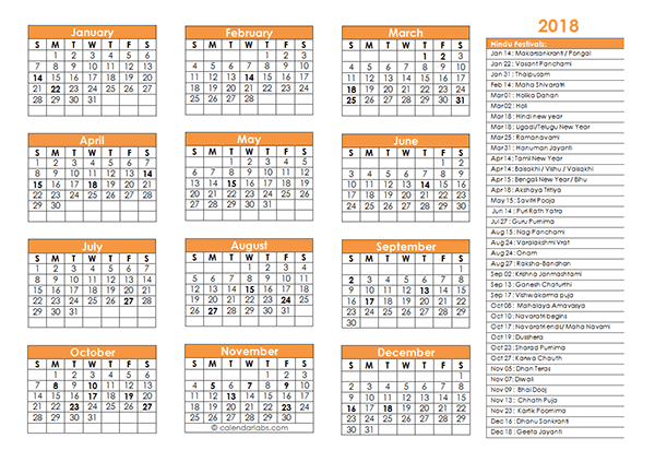 2018 Islamic Festivals Calendar Template   Free Printable Templates