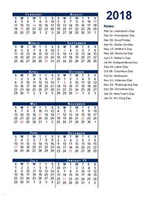 2018 fiscal period calendar 4 4 5