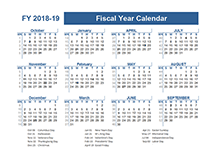 2018-2019 Fiscal Planner US