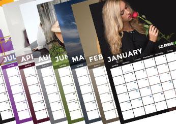 2018 Model Photo Calendar