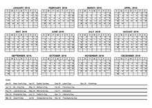 2018 yearly calendar pdf free printable templates