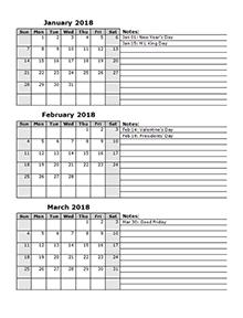 quarter calendar 2018 - Geocvc.co