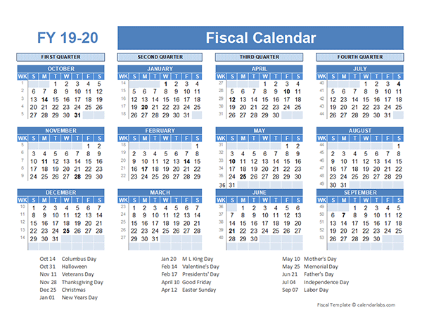 fiscal planner template 2019