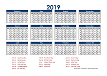 4-5-4 accounting close calendar 2019