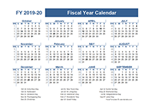 2019-2020 Fiscal Planner US