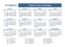 2020-2021 Fiscal Planner US
