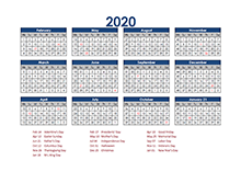 4-5-4 accounting close calendar 2020