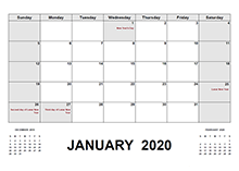 2020 Hong Kong calendar with holidays pdf