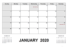 2020 Indonesia calendar with holidays pdf