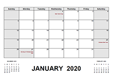2020 Malaysia calendar with holidays pdf