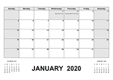 2020 New Zealand calendar with holidays pdf