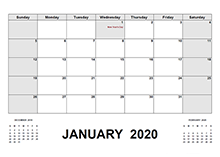 2020 UAE calendar with holidays pdf