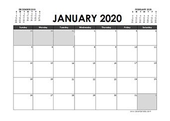 2020 Calendar Planner Pakistan holidays