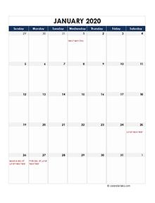 Hong Kong calendar 2020 Public holidays