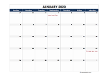 2020 calendar Indonesia spreadsheet template