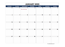 2020 calendar Netherlands spreadsheet template