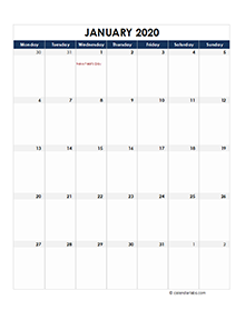 Netherlands calendar 2020 Public holidays