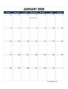 Thailand calendar 2020 Public holidays