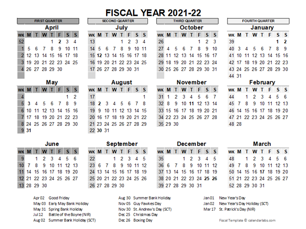 Calendar 2021-22 Printable Pictures