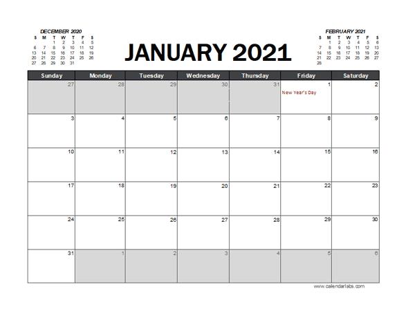 2021 Calendar Planner Singapore Excel - Free Printable ...