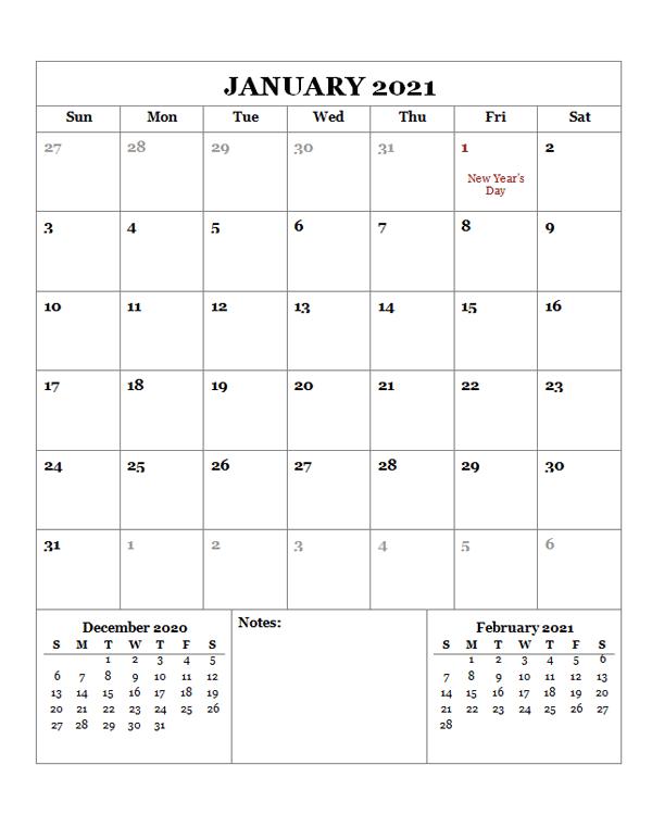 2021 Printable Calendar with Hong Kong Holidays