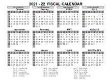 2021 US Fiscal Year Template